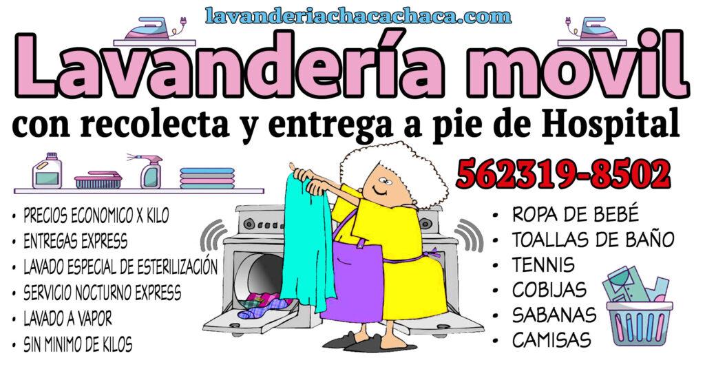 Lavanderia con servicio a hospitales