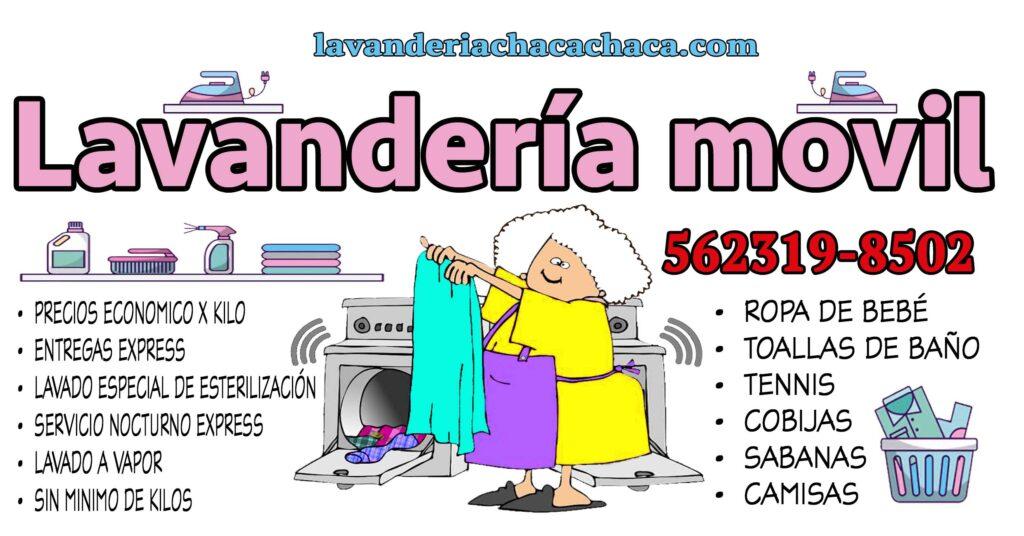 Lavanderia cdmx servicio a casa